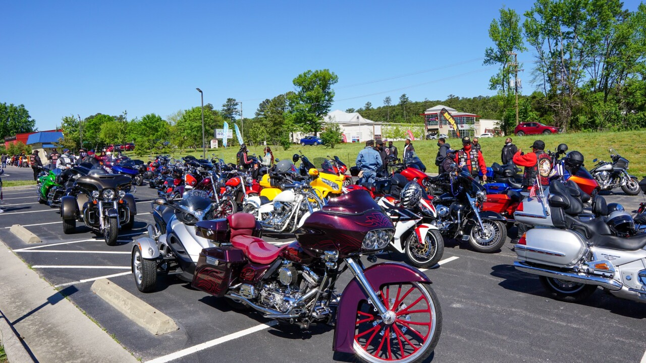 Charity motorcycle, bike rides to benefit organizations