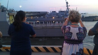 Photos: USS Forrest Shermandeploys