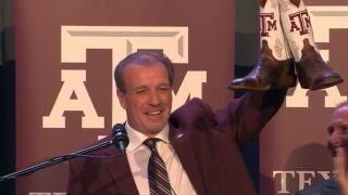 Texas A&M promised Jimbo Fisher a 10 year, $75 million contract five months ago.