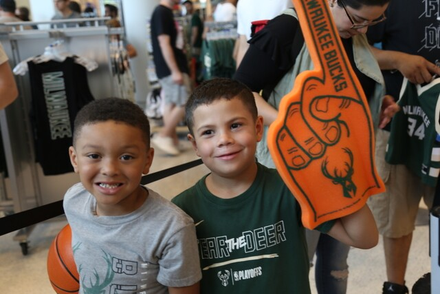 Fiserv Forum officially opens in downtown Milwaukee [PHOTOS]