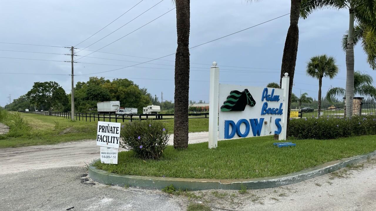 Palm Beach Downs equestrian facility where small plane crashed