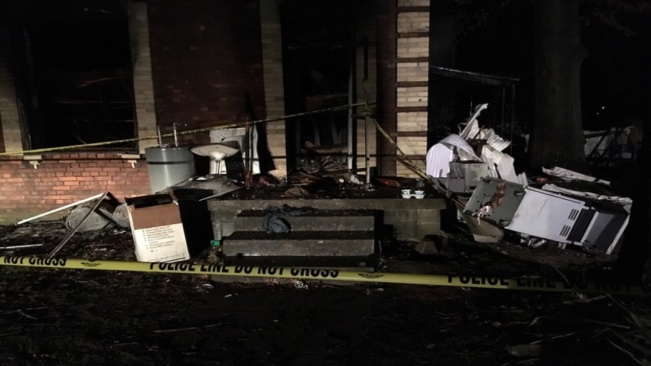 Report: Three dead in Brazil house fire