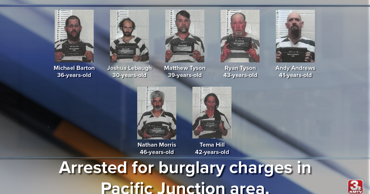 Burglaries in Pacific Junction area lead to multiple arrests