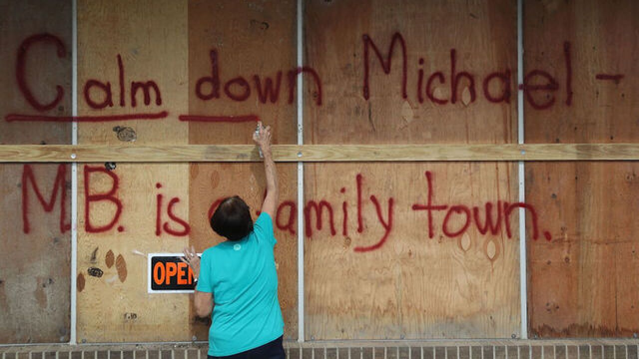 Michael will be the strongest hurricane to hit the continental US in more than a year