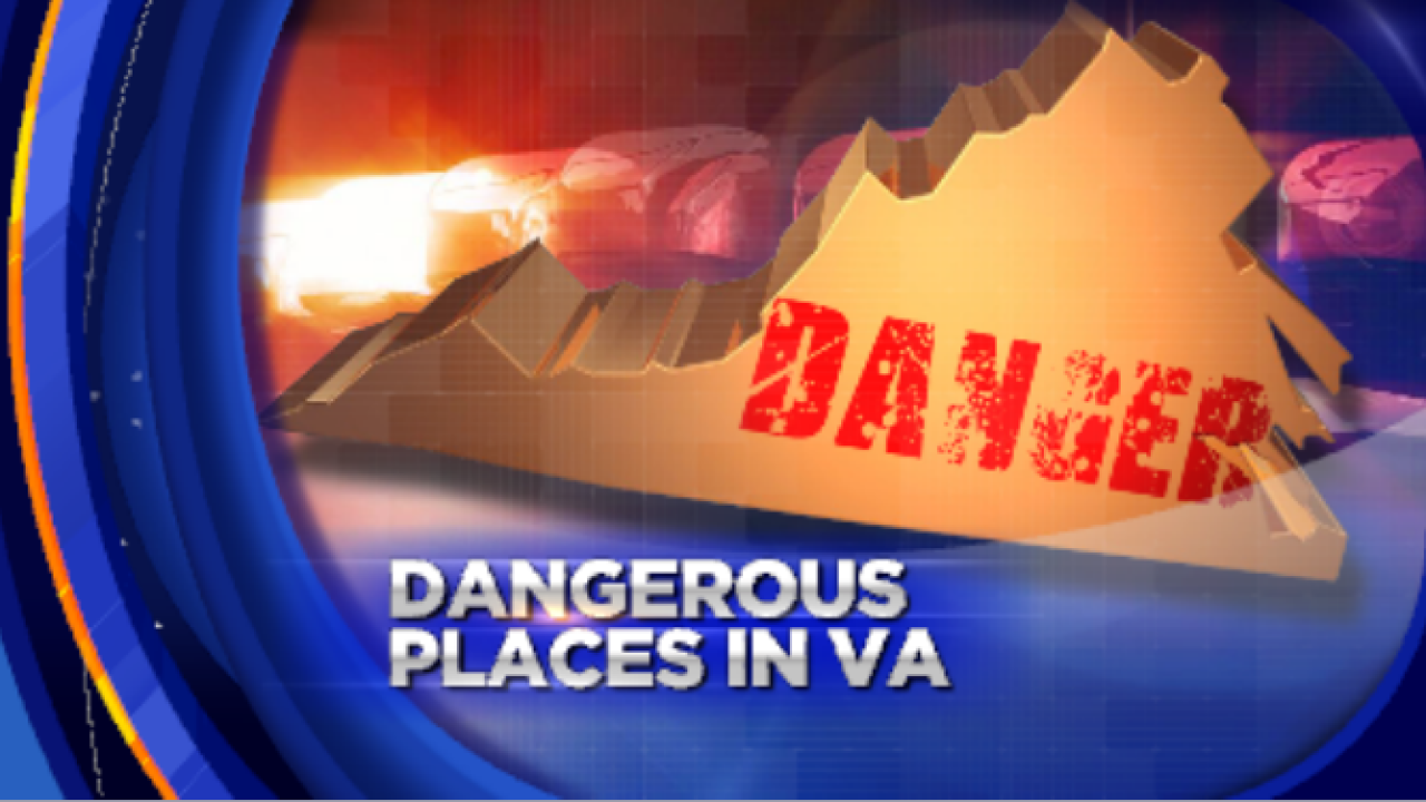 Richmond named in most dangerous places in Virginia list