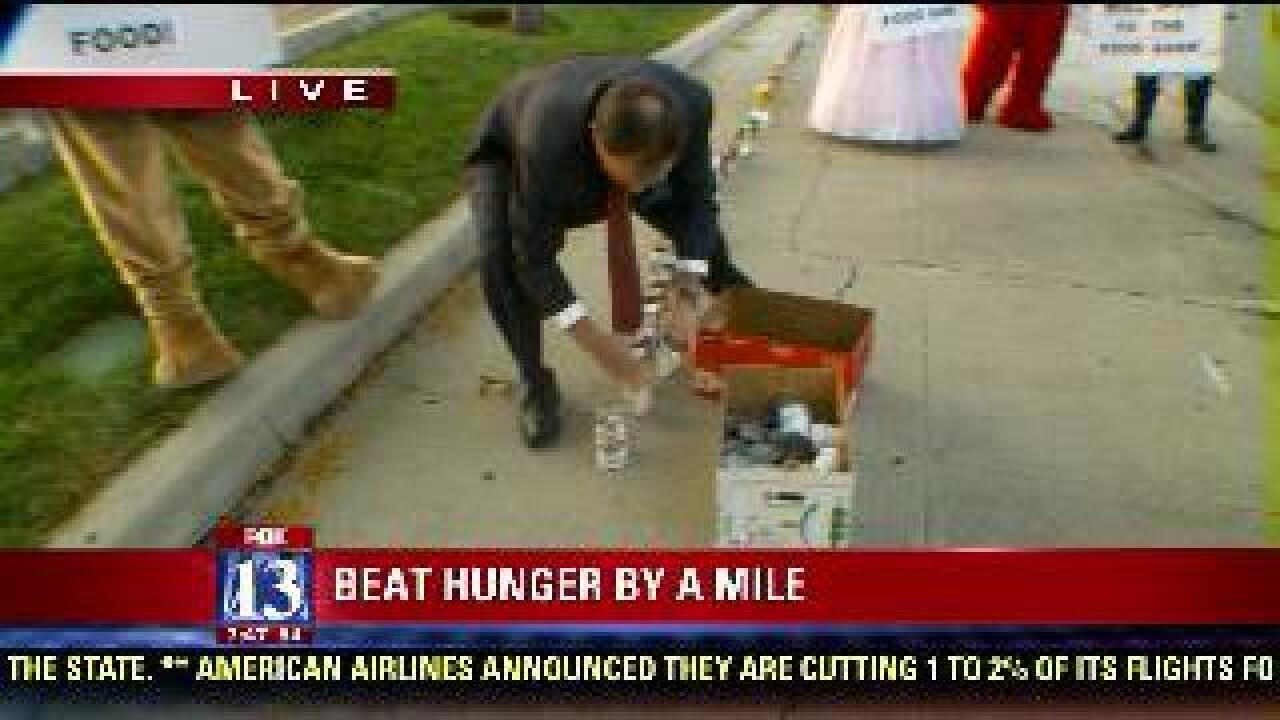Gov. Herbert contributes to food drive