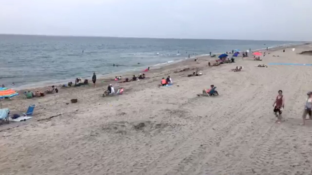 Residents in southern Palm Beach County were eager to hit the beach for the first time in months on Monday May 18, 2020.