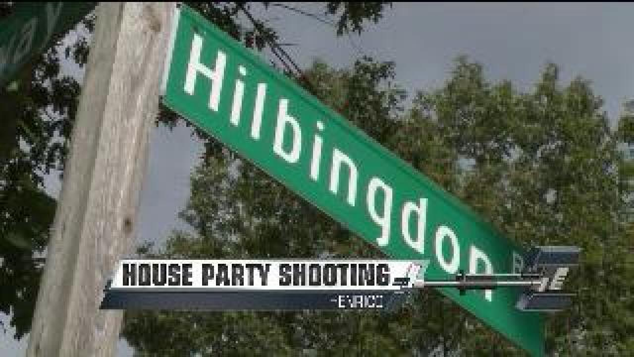 Teen girl shot at party in Henrico