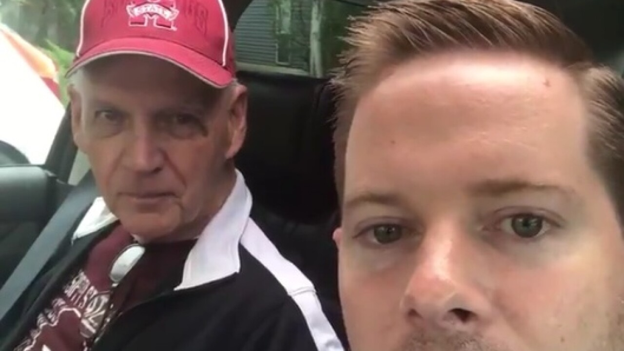Mississippi State fan surprises father with Alzheimer's with College World Series tickets