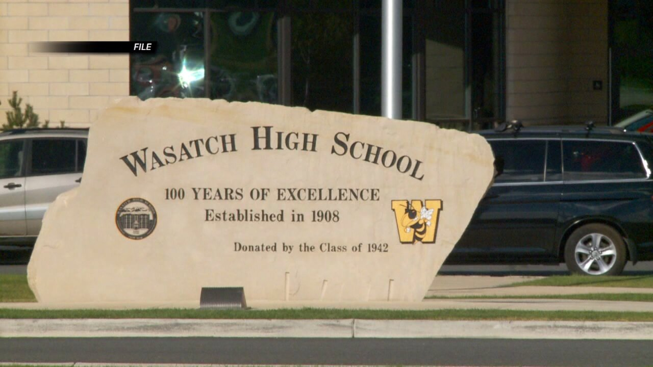 15-year-old student arrested after threatening gun violence at Wasatch High School