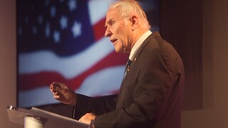 Aftab Pureval and Rep. Steve Chabot clash onstage in WCPO-hosted debate