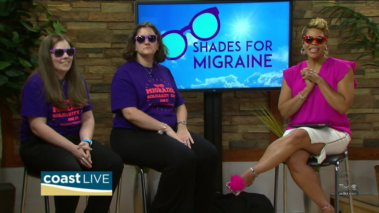 Marking Shades for Migraines Day and what can be done to ease the pain on Coastlive