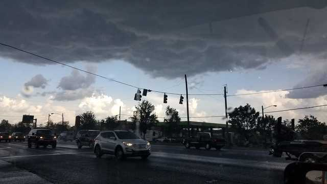 Photos: Strong Storms Bring Hail To Middle Tennessee