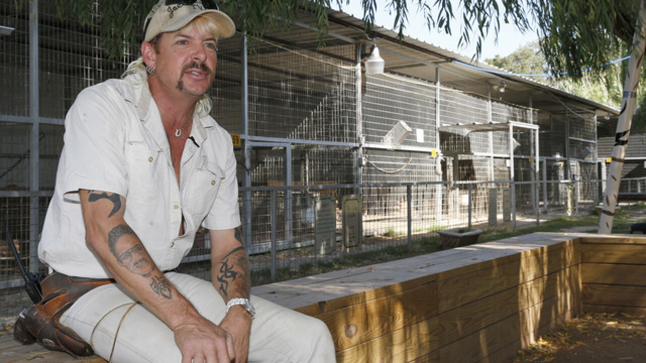 'Joe Exotic' pleads not guilty to killing endangered tigers