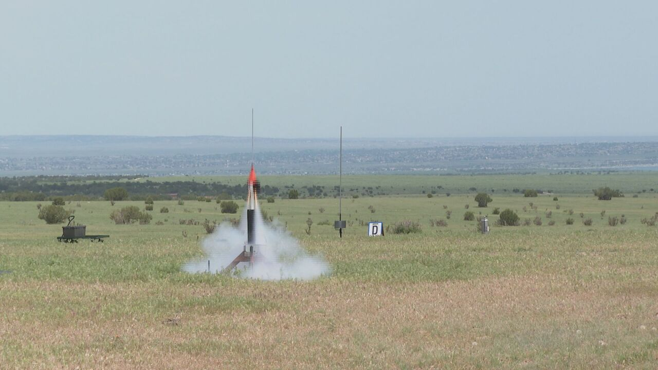 Pueblo serving as one of 11 regional launch sites for national rocketry competition