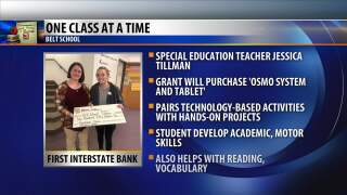 One Class At A Time: Jessica Tillman