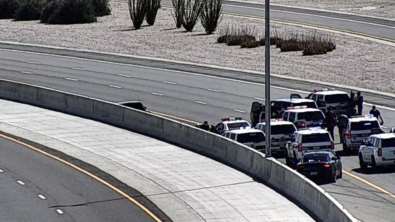 DPS pursuit in Mesa