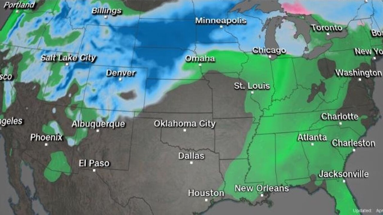 Plains, upper Midwest brace for travel headaches ahead of bomb cyclone