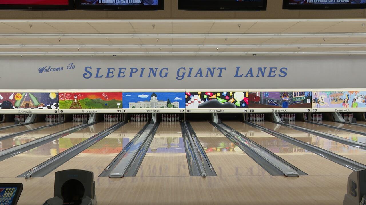 SLEEPING GIANT LANES 2