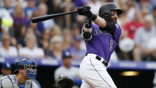 'I feel great': Rockies' Charlie Blackmon returns to practice after COVID-19 recovery