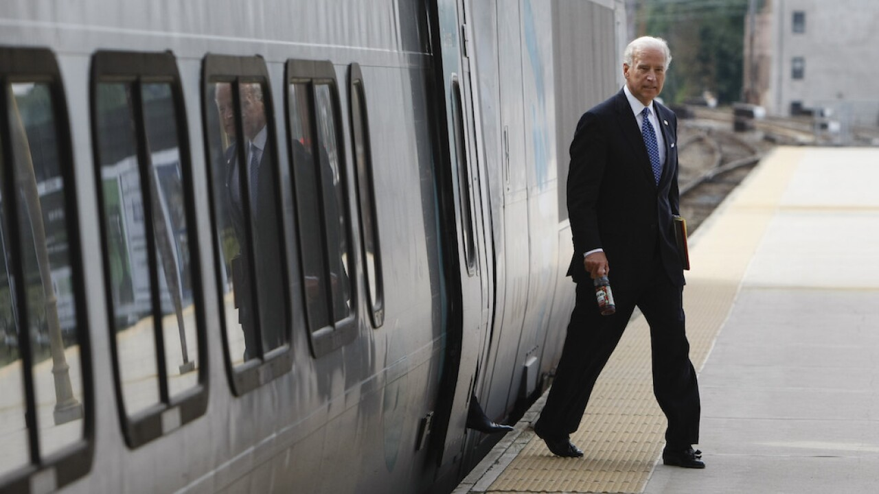 Joe Biden Amtrak
