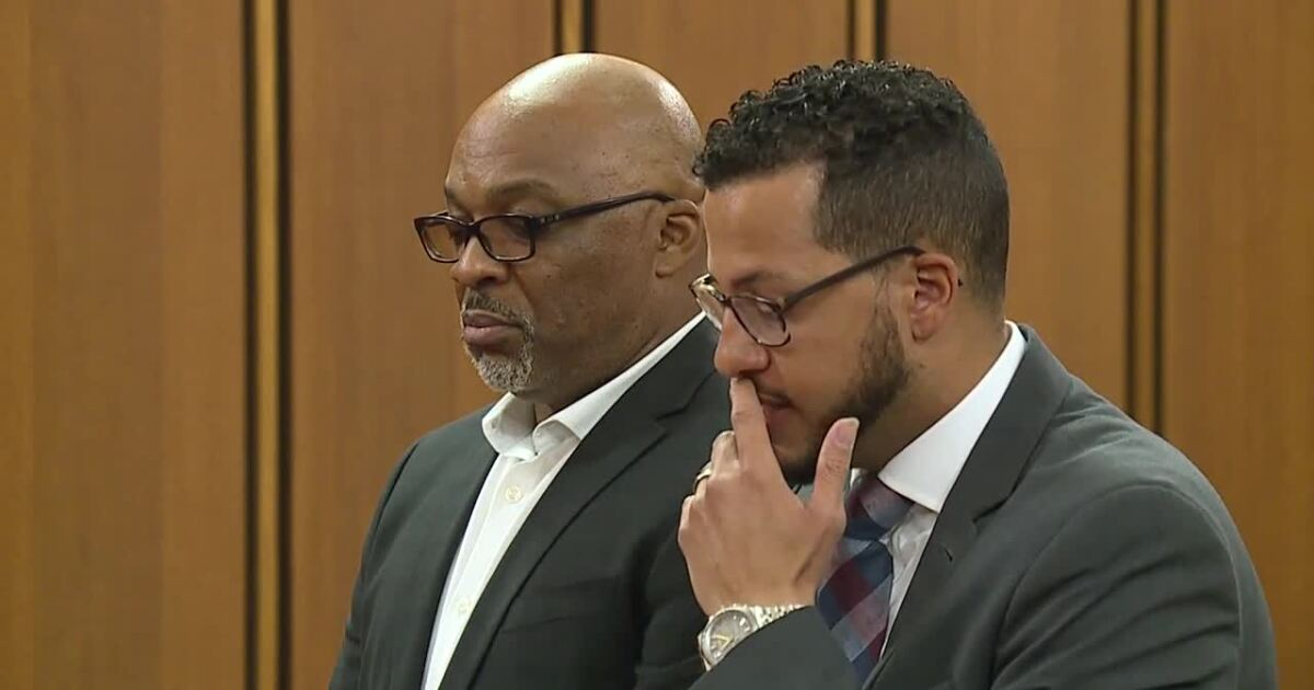 LIVE: Former Cuyahoga County Jail Warden Eric Ivey being sentenced for obstruction, falsification