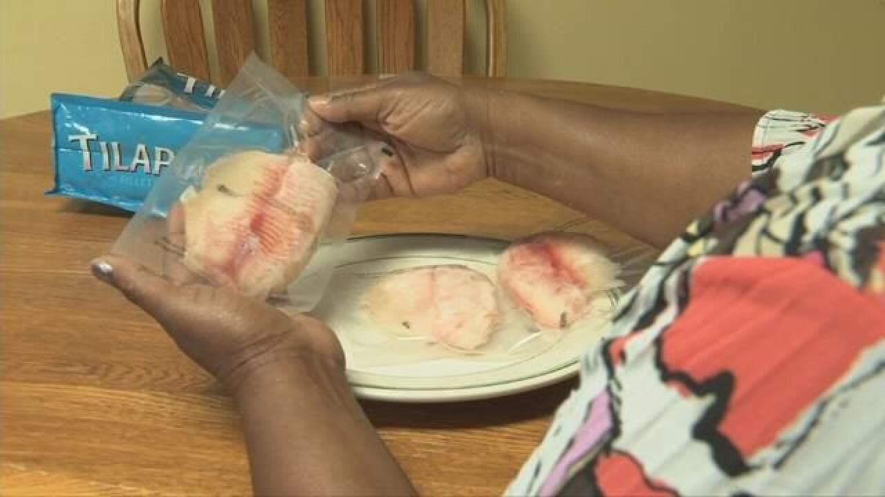 Mother wants frozen tilapia off store shelves after strange discovery 2