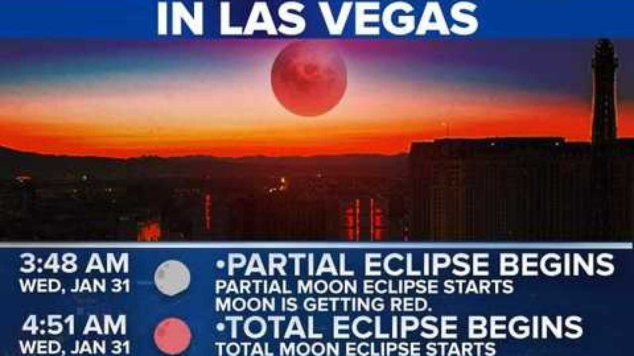 Eclipse Las Vegas >> Las Vegans Should Have Decent Shot At Seeing Lunar Eclipse