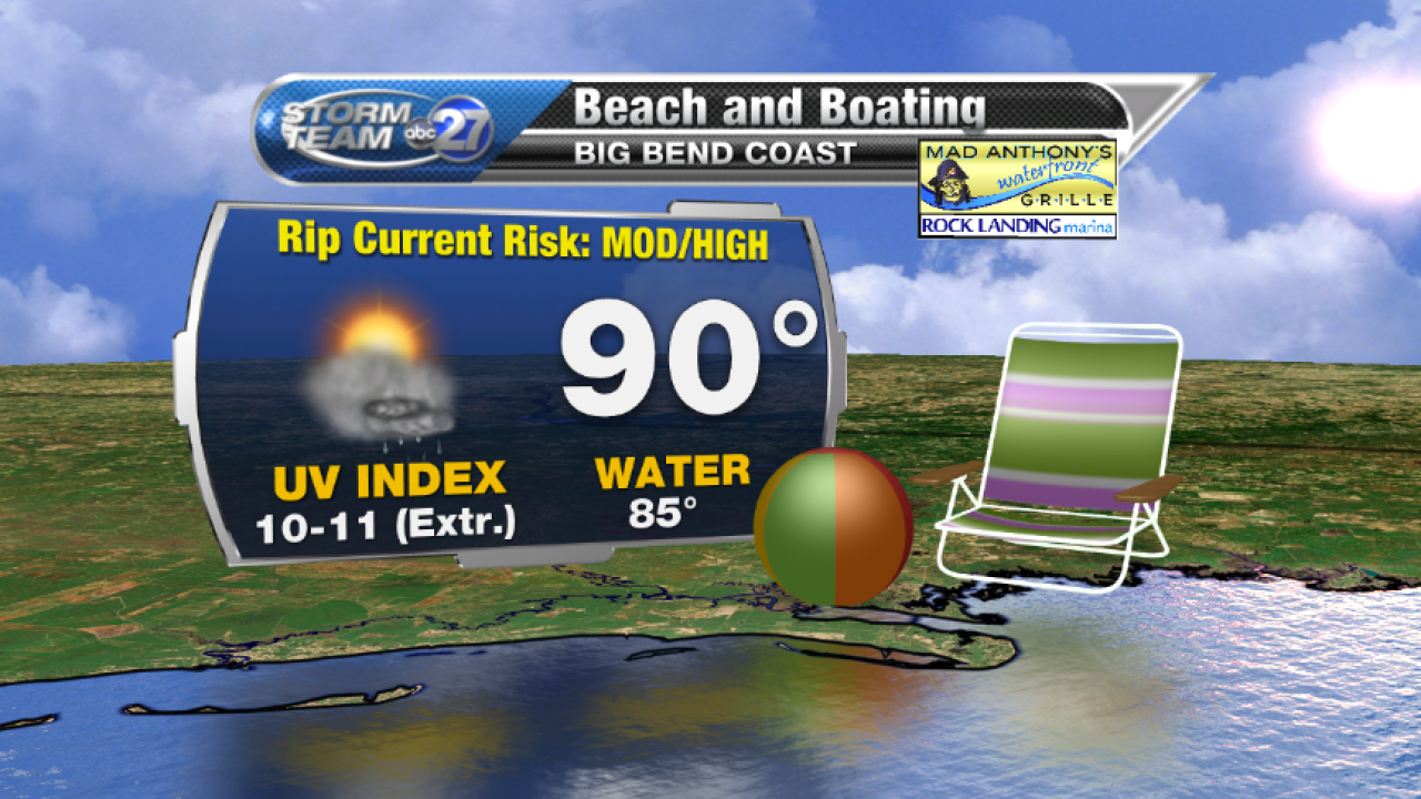 Beach and Boating forecast B (07/27/2017)