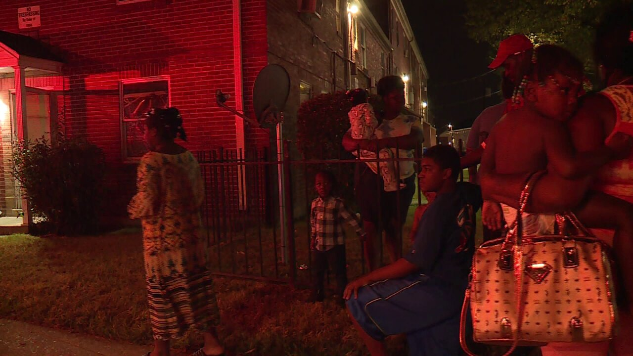 Child recovering from burns following Richmond apartmentfire