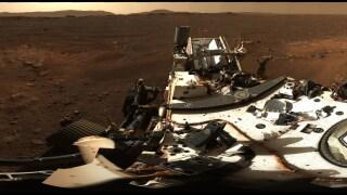 NASA Mars panorama