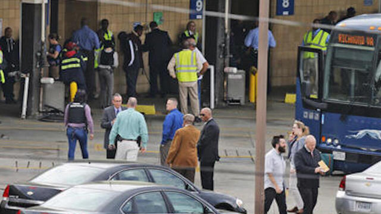 Shots fired at Richmond, Va. Greyhound station
