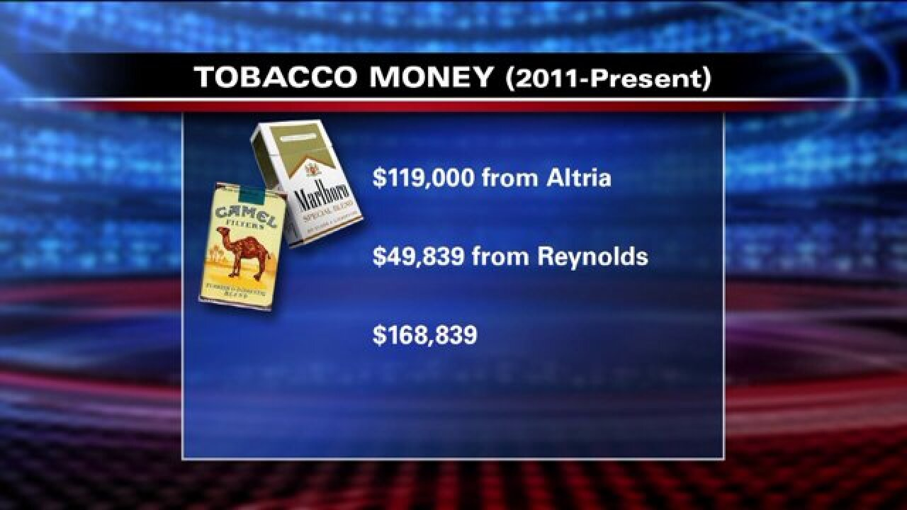 Follow the Money: Tobacco and Utah politics