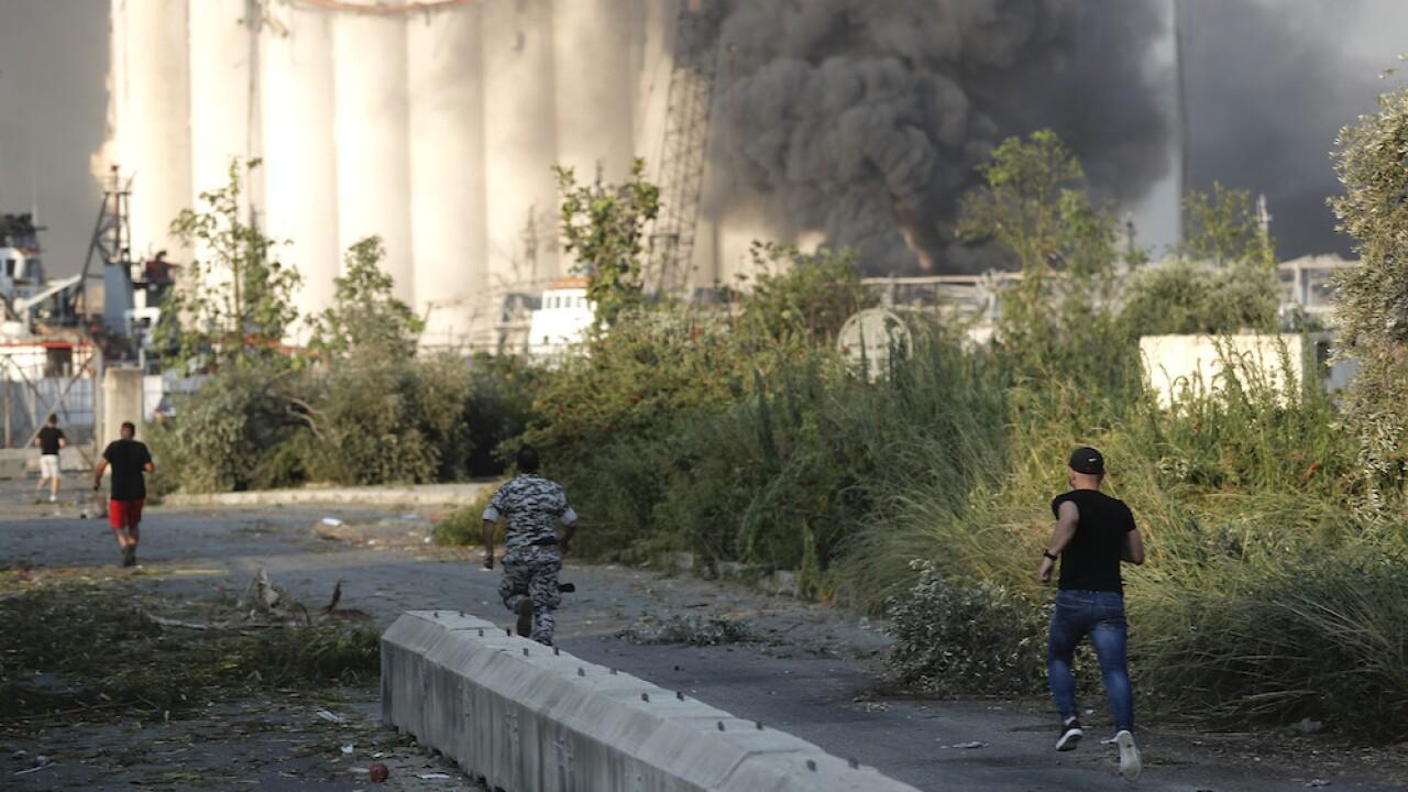 Massive explosion rocks Beirut