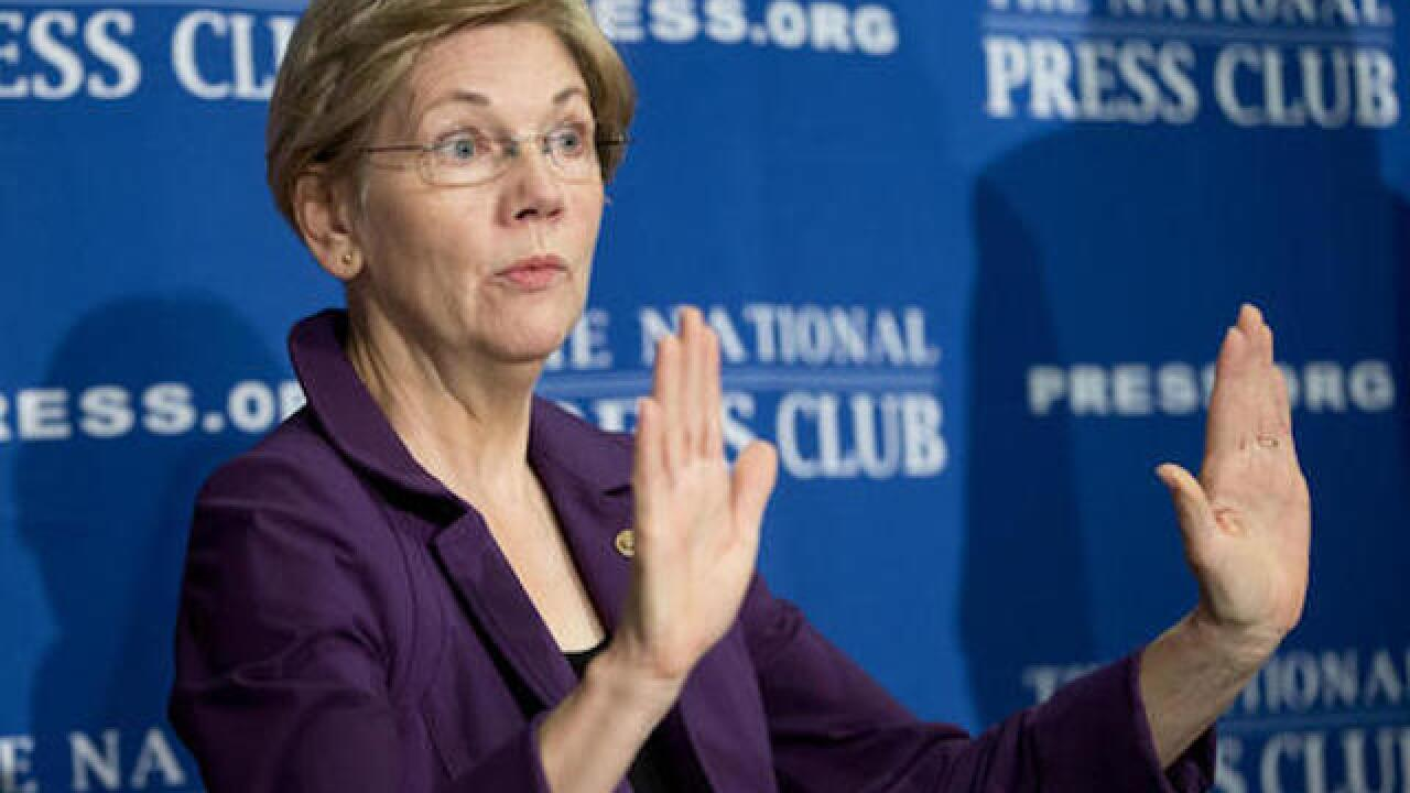 Sen. Warren slams Trump