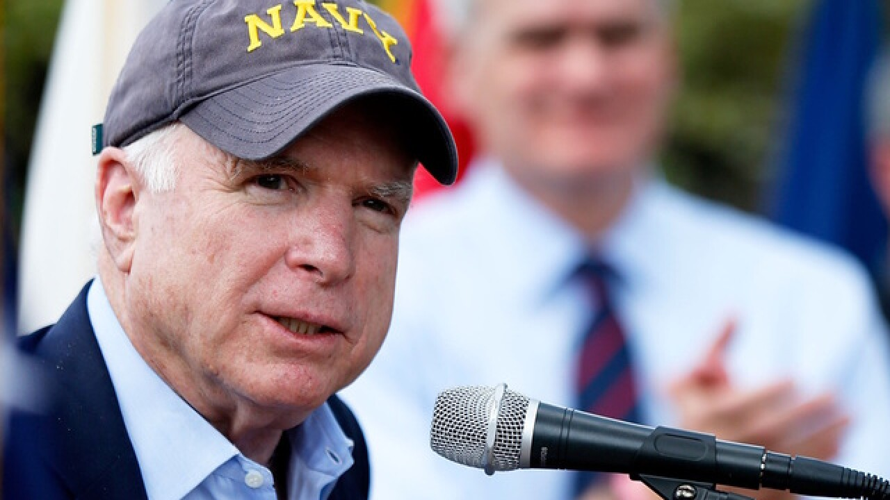 Senator McCain called town of Cornville home