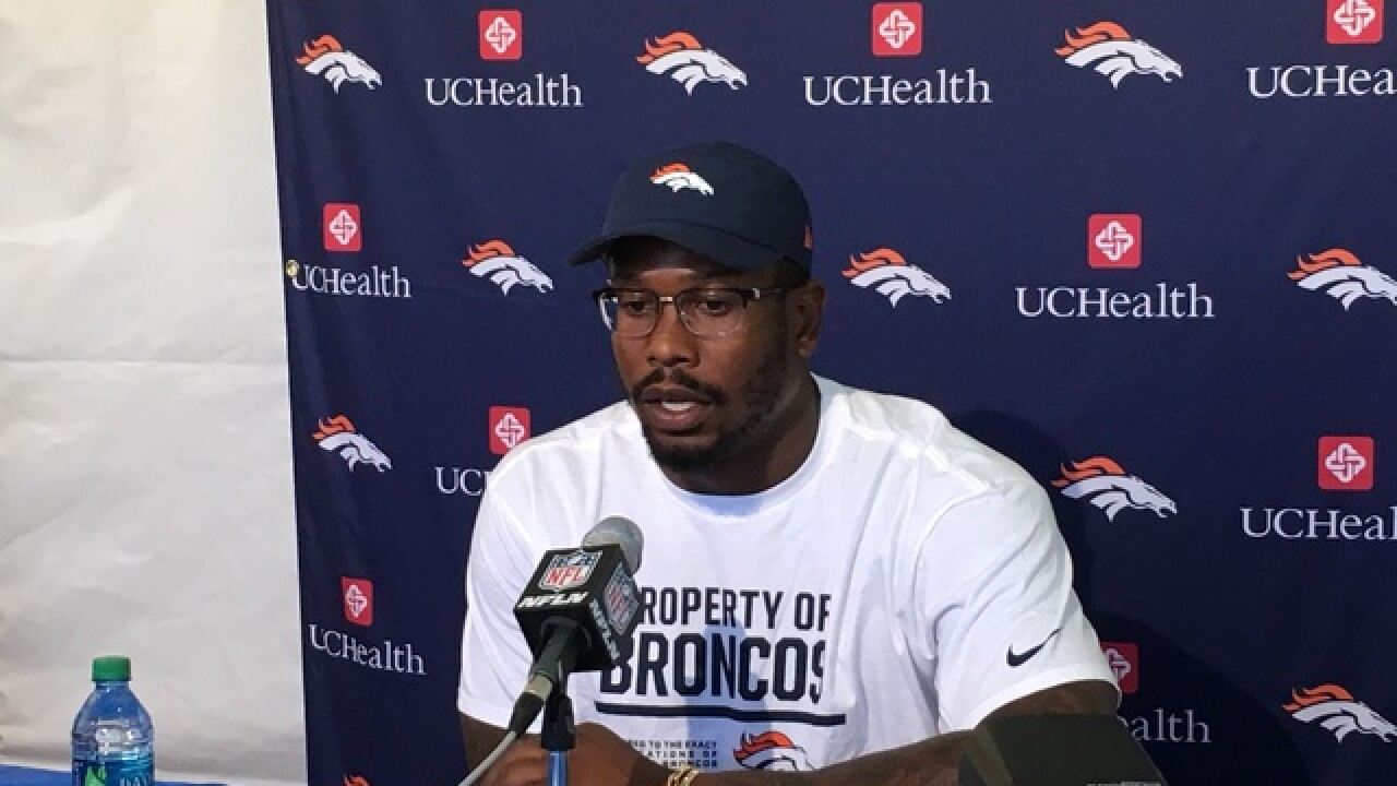 Von Miller brings 'different mindset' to this year's Broncos camp