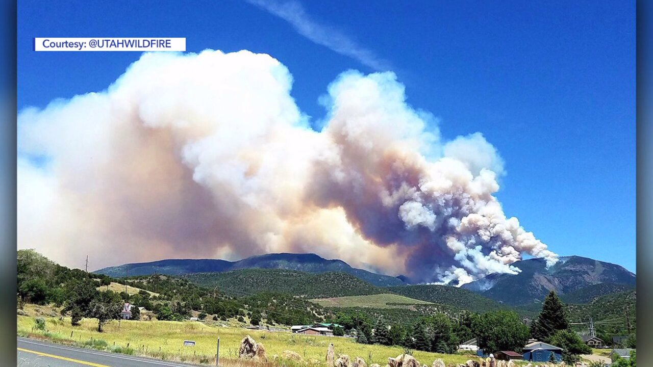 Skull Flat Fire on 1,500 acres near Beaver now 10% contained