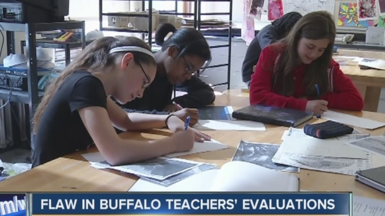 Buffalo Public School finds flaw in 100 teacher evaluations