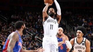 Kyrie Irving scores 45 points, Pistons outlast Nets in OT