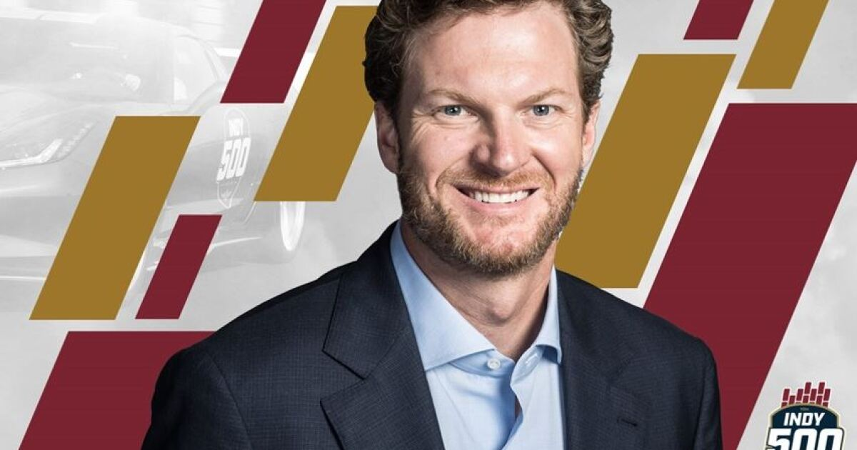 Dale Earnhardt Jr. will drive the Pace Car at the Indy 500