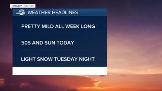 Jan. 4 2020 5:15am forecast