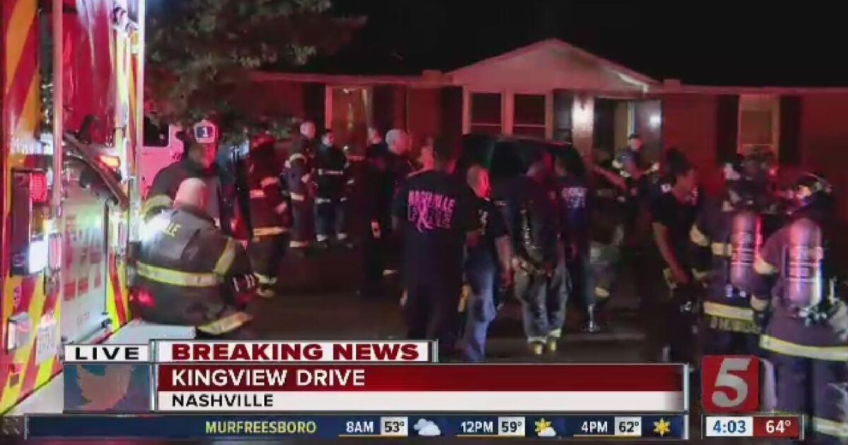 Seven hospitalized following Nashville house fire