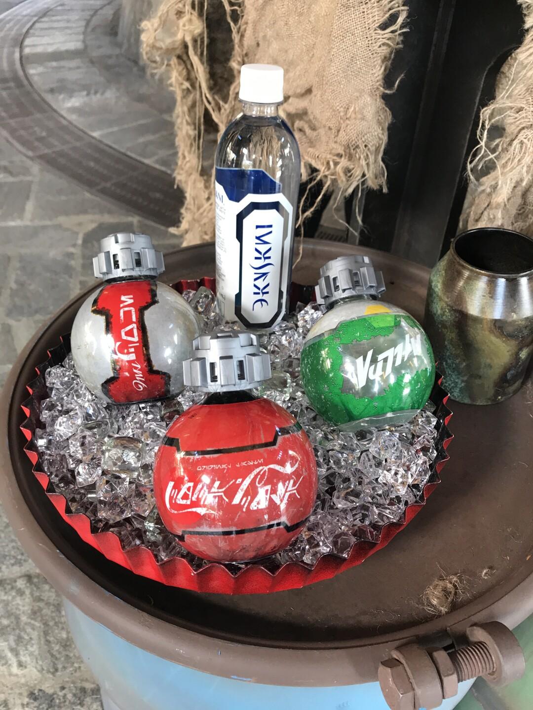 star wars galaxy's edge soda coke bottle
