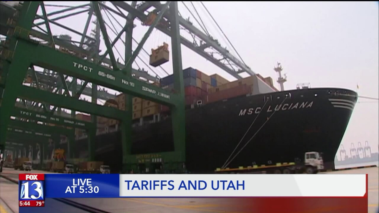 Utah businesses and consumers will feel the pinch of tariffs