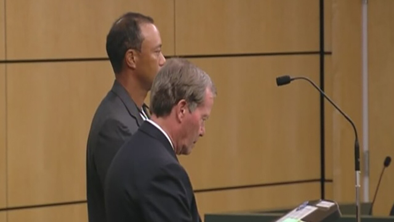 Tiger Woods in court Friday to resolve DUI case