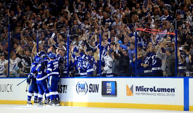 PHOTOS | Tampa Bay Lightning beat New Jersey Devils in Game 1 of playoffs
