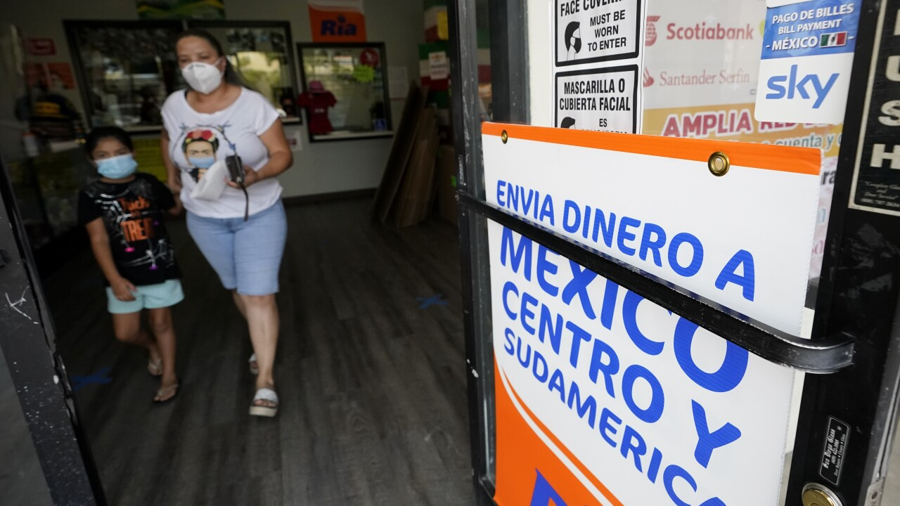 Mexican workers have confounded economists by sending home huge sums of money during the coronavirus pandemic. Experts had predicted that as the American economy took a dive, migrant workers would send their families less money, known as remittances. Photo via AP.