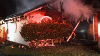 2 hospitalized after house fire causes $130,000 in damages