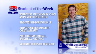 Student of the Week: Hunter Shelmerdine